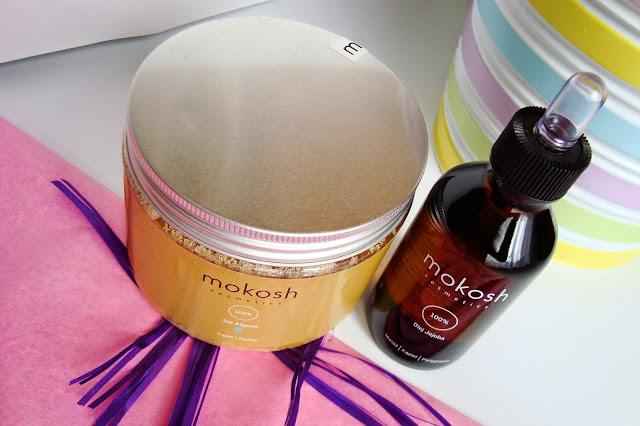 MOKOSH - Sól algowa i Olej jojoba