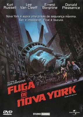 Filme Poster Fuga de Nova York DVDRip RMVB Dublado