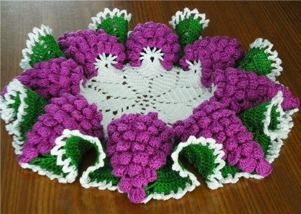 Салфетка Гроздья винограда