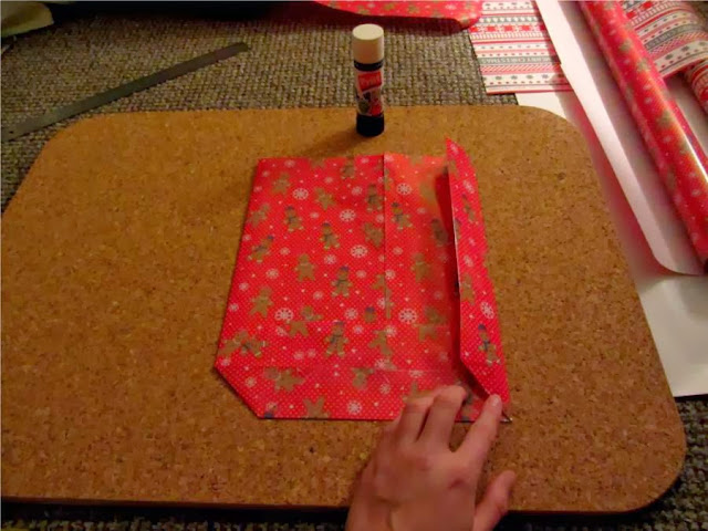 Christmas gift bag tutorial