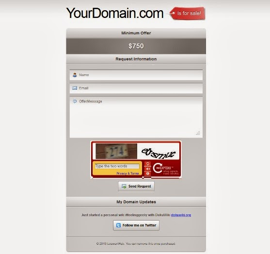 Domain Broker - HTML Template