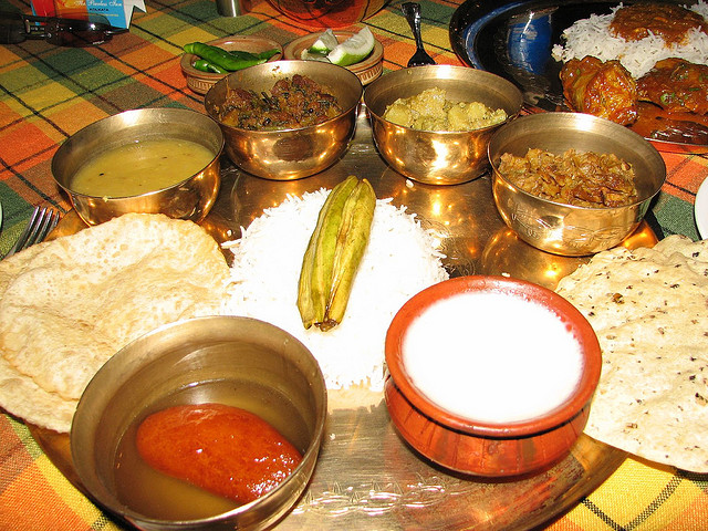 Kolkata blog poila boishakh bengali food for Authentic bengali cuisine