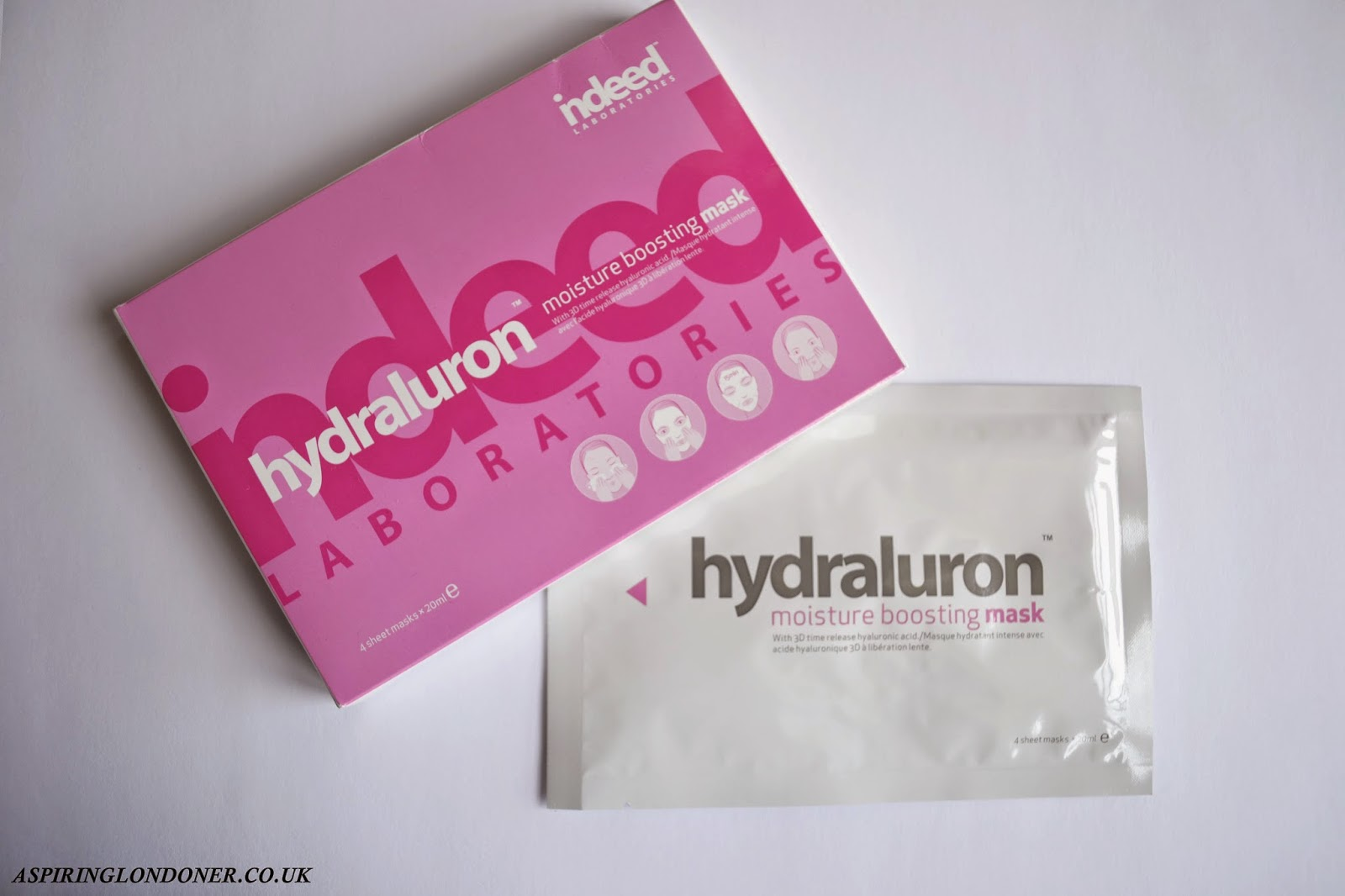 Indeed Labs Hydraluron Moisture Boosting Mask Review - Aspiring Londoner