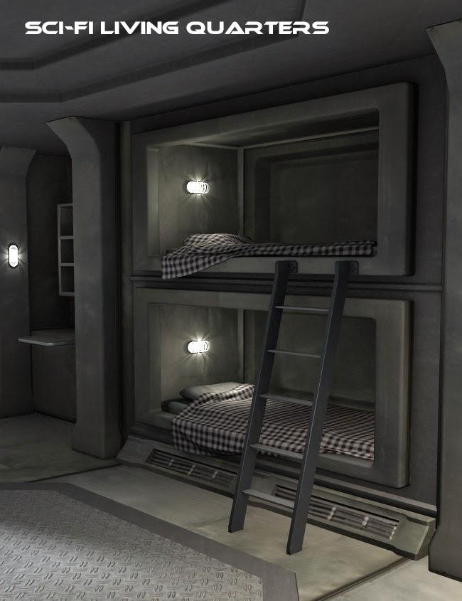 Sci-Fi Living Quarters