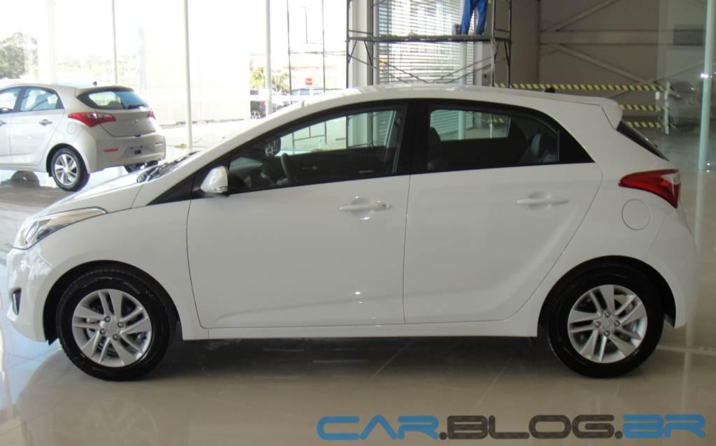 """um carro compacto que merece o sobrenome """"Premium"""" é o Hyundai HB20"""
