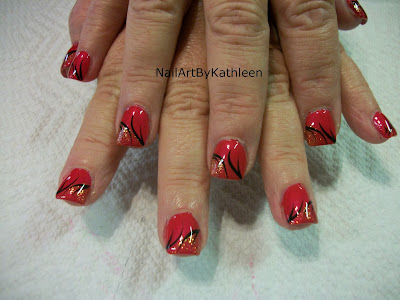 Nail Art By Kathleen: Easy Beautiful Nail Design