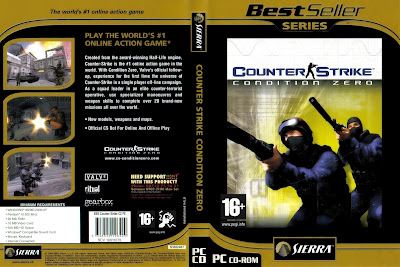 Counter Strike Condition Zero PC DVD Capa