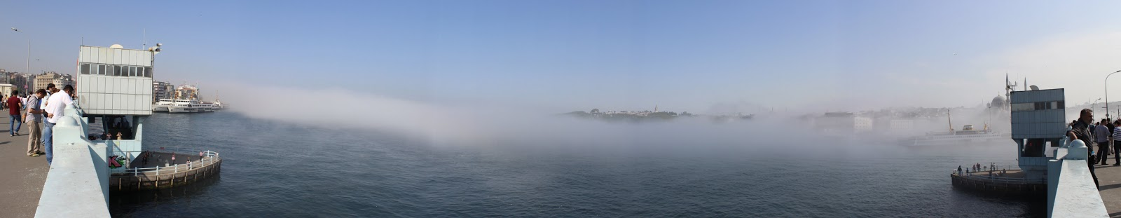 istanbul sis altında