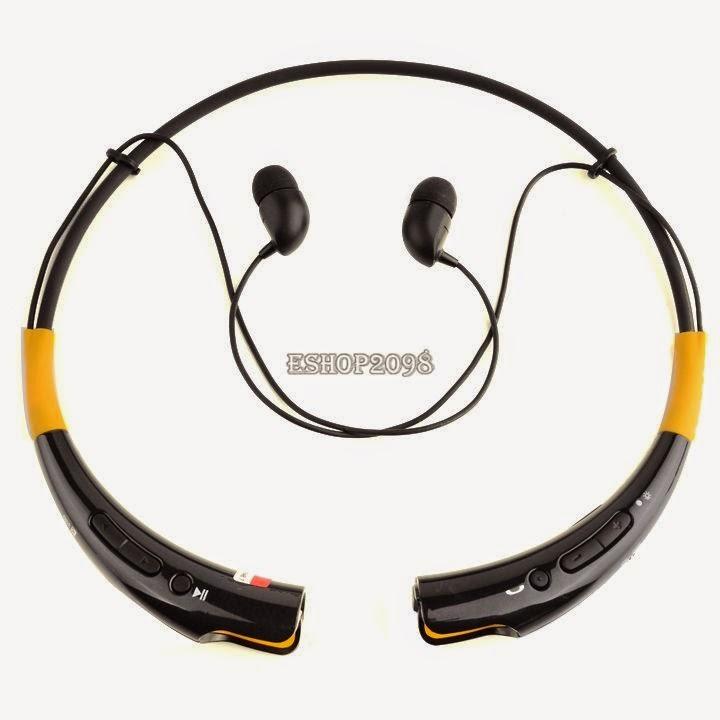NEW Neckband HBS-740 Wireless Bluetooth Universal Stereo Headset HBS740 Earphone
