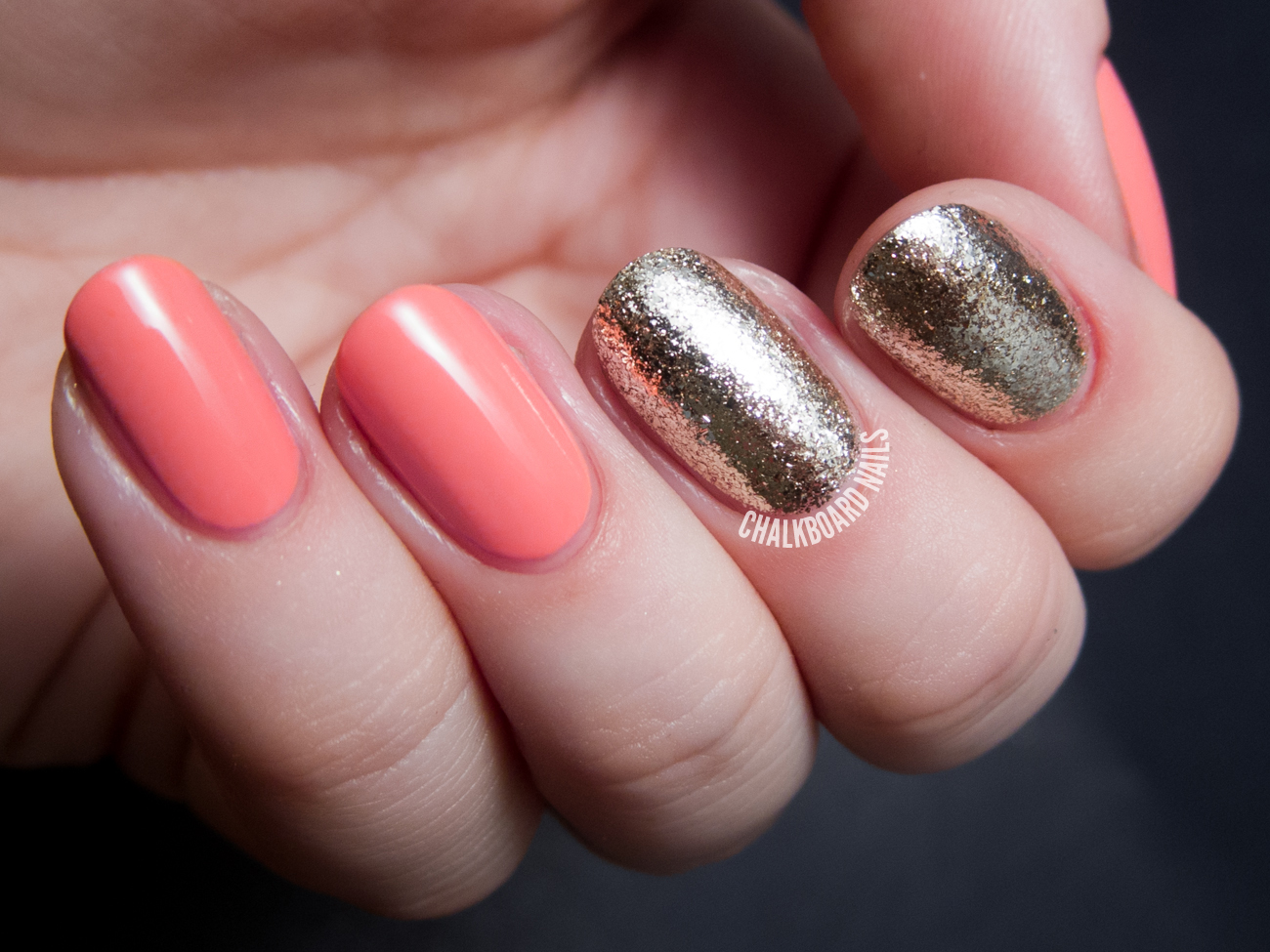 Lacquistry\'s Amazeballs Is Shiny... Real Shiny. | Chalkboard Nails ...