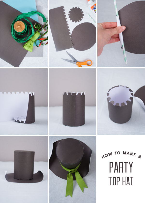 Paper Top Hat Template