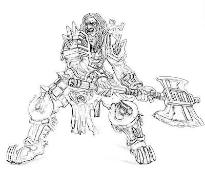 Diablo 3 Barbarian Portrait Yumiko Fujiwara