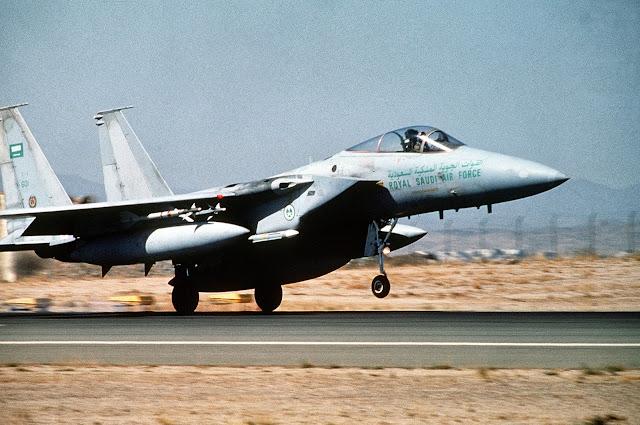 Saudi F-15 Eagle