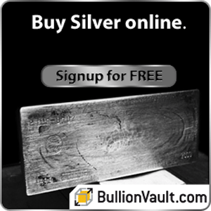 Silver from Bullionvault
