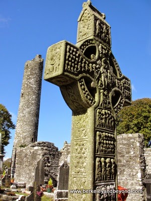 Monasterboice high cross site near Dublin, Ireland