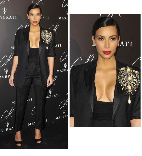 Kim Kardashian Black Party in Paris