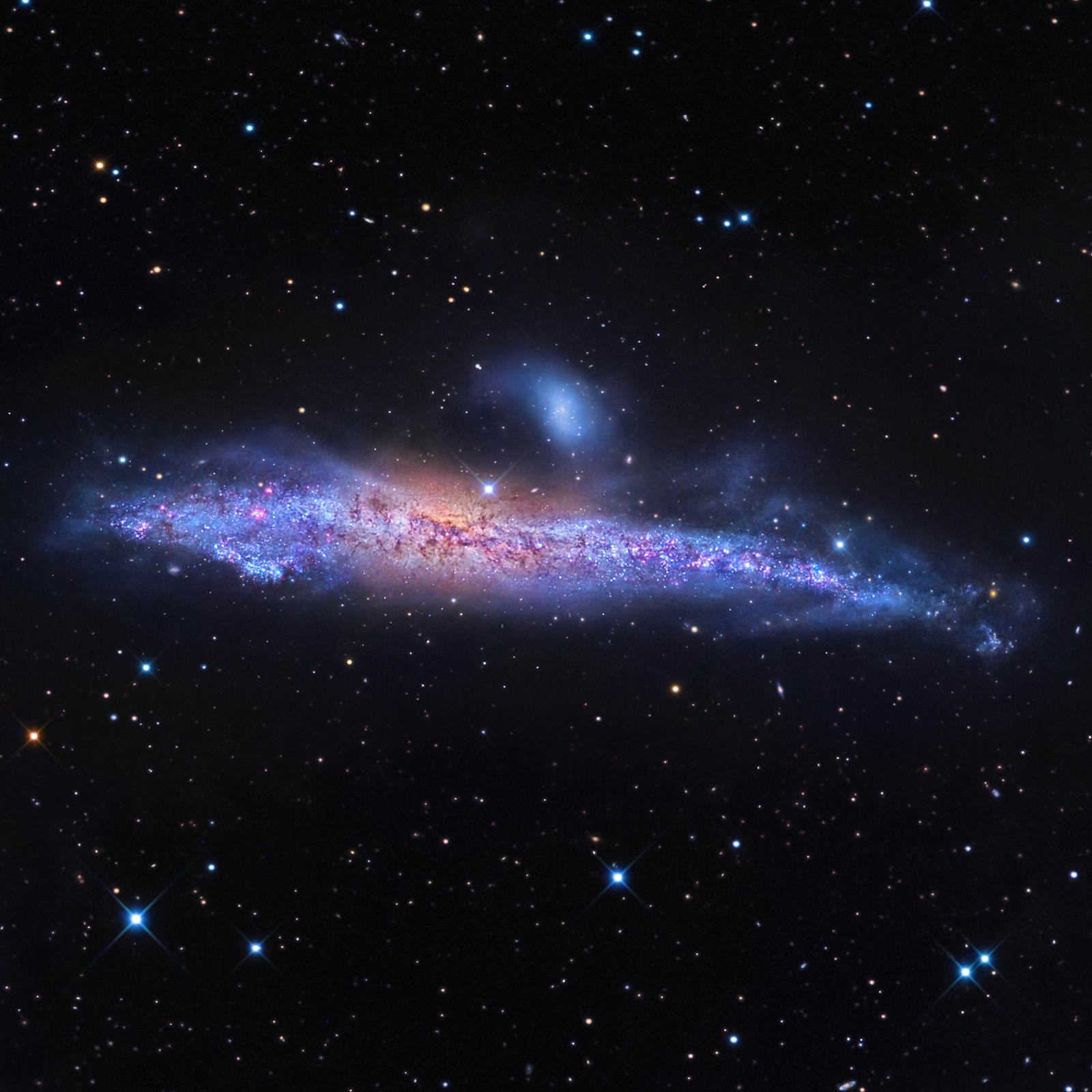 three shapes of galaxies - photo #33