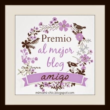 Premio Mejor Blog Amigo