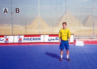 Foto Seleção Brasileira - EGITO 2002