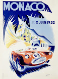 Monaco 1952 Poster Available in all sizes
