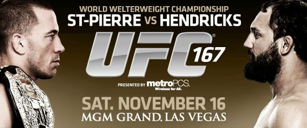 ST-PIERRE VS. HENDRICKS ufc fighting day
