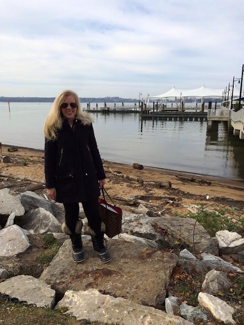 j crew chateau parka sorel boots maryland preppy lifestyle blogger