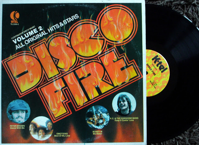 Disco Fire ~ Continuous Disco Music - Volume 2 on K-Tel 1979