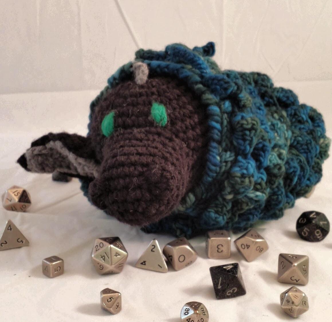 Dragon Egg Dice Bag Crochet Pattern : Megs Minions - Crocheted Awesomeness