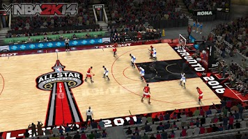 NBA 2k14 Ultimate Custom Roster Update v6.3 : February 25th, 2016 - All Star Toronto Court - HoopsVilla