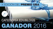 PREMIO EDUBLOGS UBA 2016: 1º PREMIO
