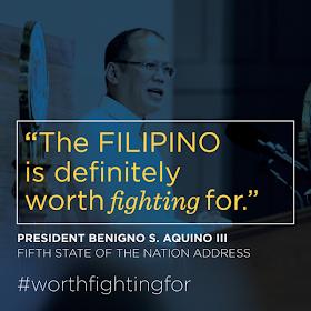 Filipino is worth fighting for - President Benigno Aquino