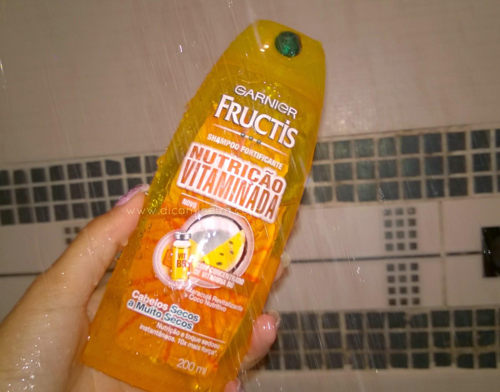 Testei e Reprovei! Shampoo Nutrição Vitaminada Fructis