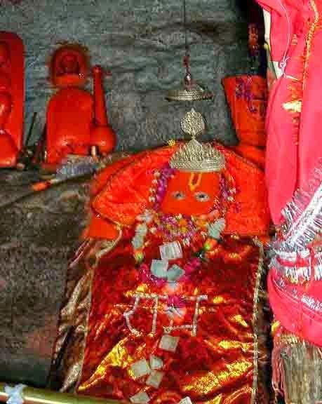 हनुमान धारा, चित्रकूट, उत्तर प्रदेश (Hanuman Dhara, Chitrakoot, Uttar Pradesh)