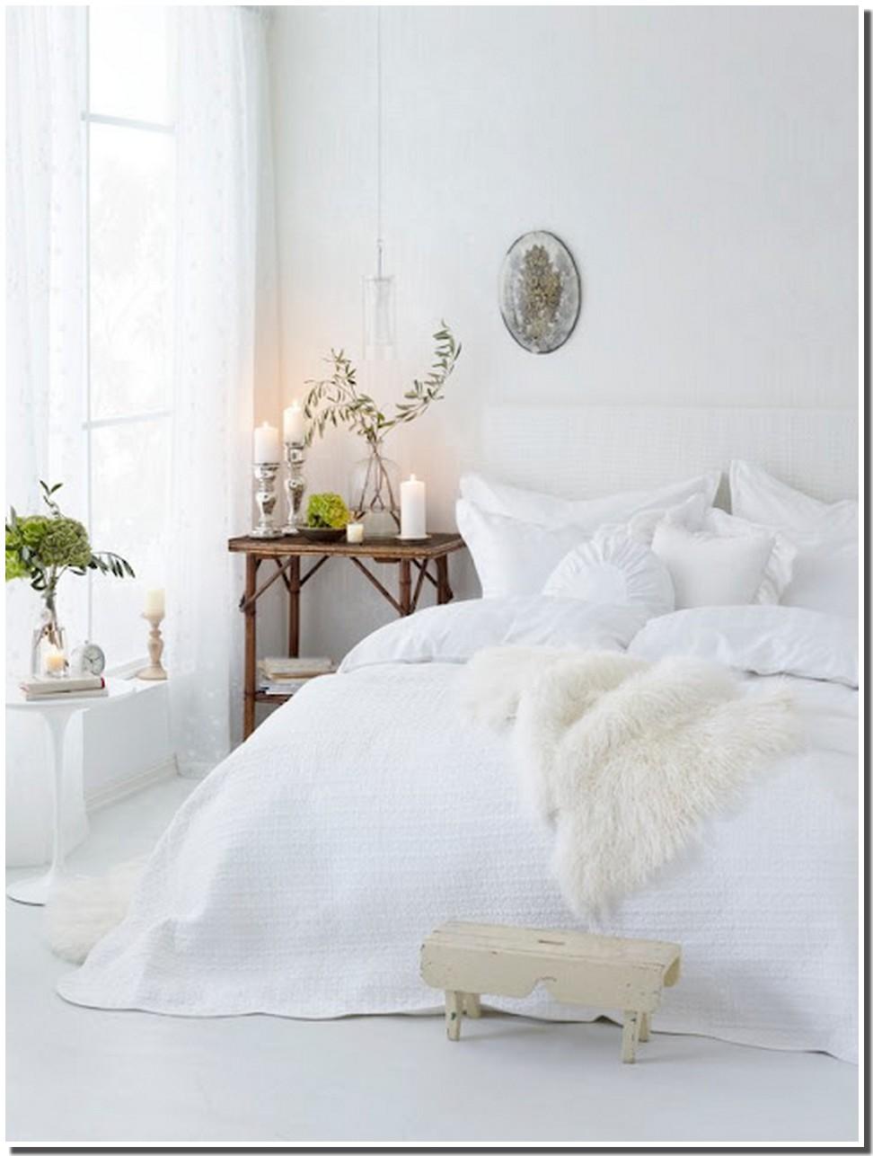 Chambre Romantique Blanche