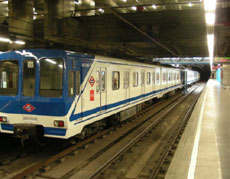 Estación de Príncipe Pío del Metro de Madrid