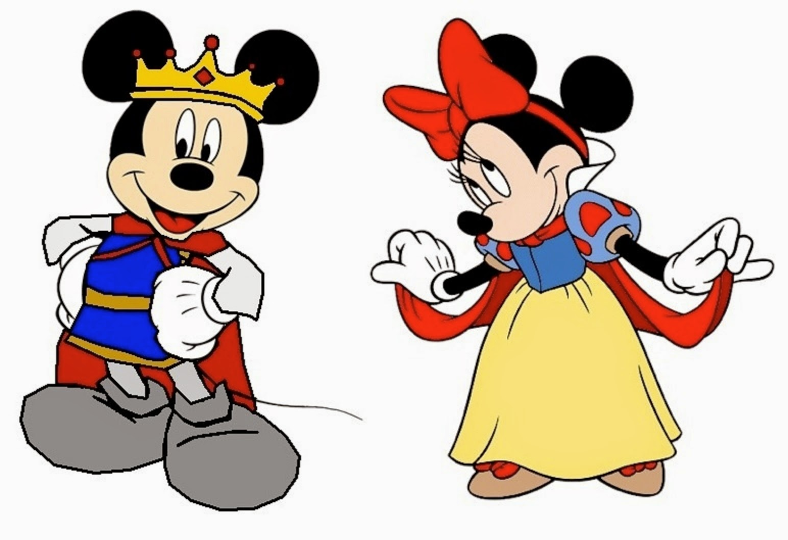 Beautiful And Noty Disney Mickey Mouse And Minnie Mouse Wallpapers