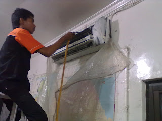Cleaning ac Jl. Semangka