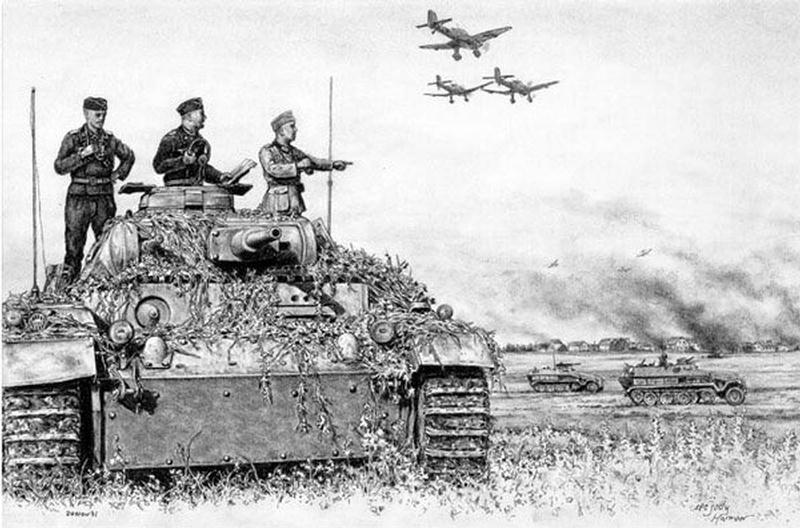Танк т 3 pz 3 первый боевой танк вермахта