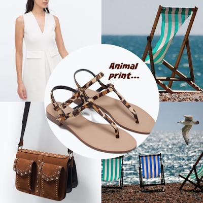 7 looks estrella con sandalias animal print primavera verano 2015
