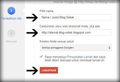 Cara Membuat Laman / Halaman di Google+ (Plus)