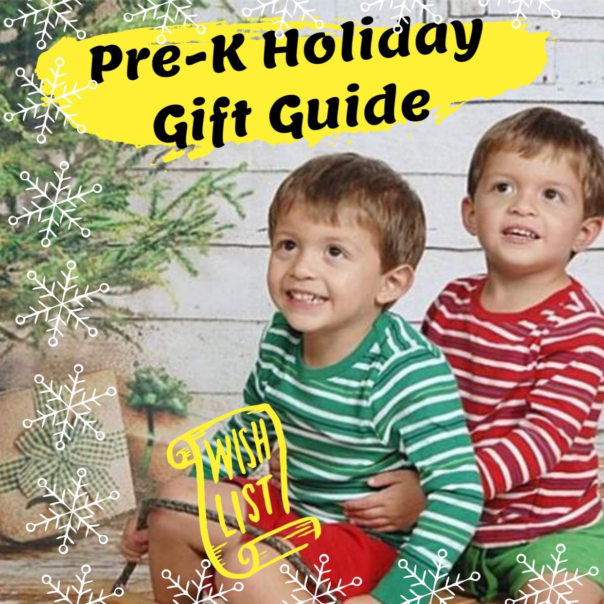 Pre-k christmas gift ideas