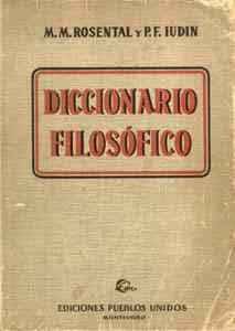 DICCIONARIO FILOSOFICO SOVIETICO