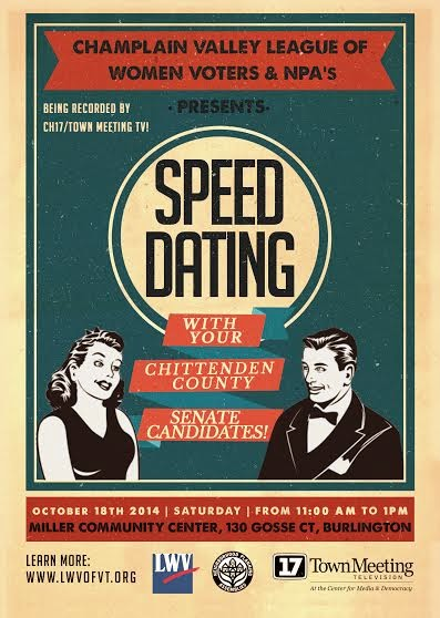 SPEED DATING WITH SENATE CANDIDATES, click on image!