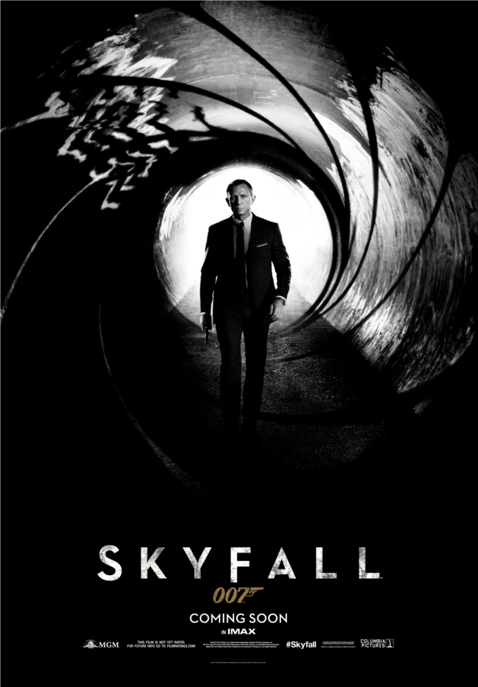 ... Memos: The next 007 film, Skyfall, gets a minimalist new poster