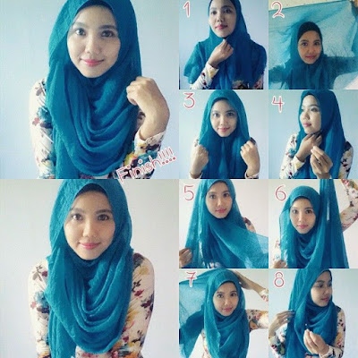 Kreasi Hijab Pashmina