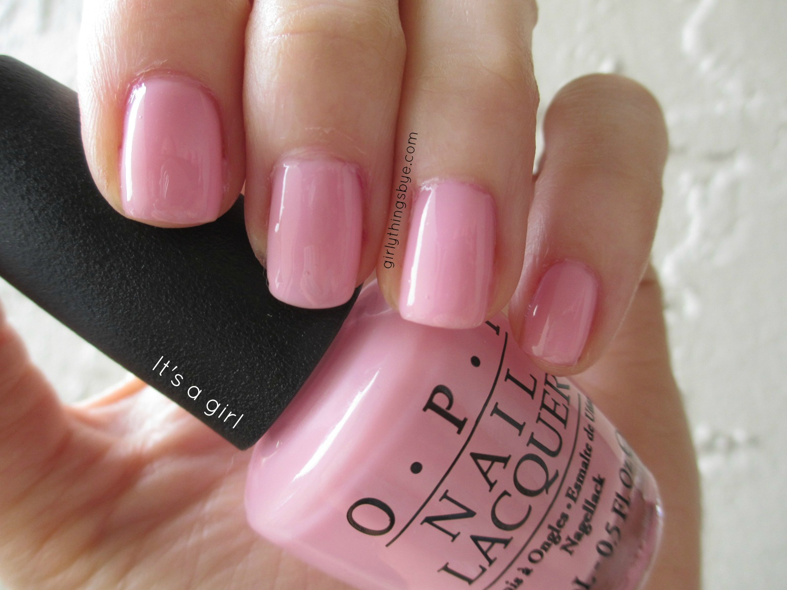 Manicure Monday: It\'s a Girl | @girlythingsby_e | Beauty Chit Chat
