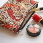 A Liberty Print Zipper Pouch DIY Tutorial...