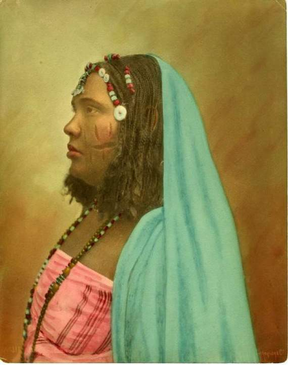 Christian Woman from Ethiopia