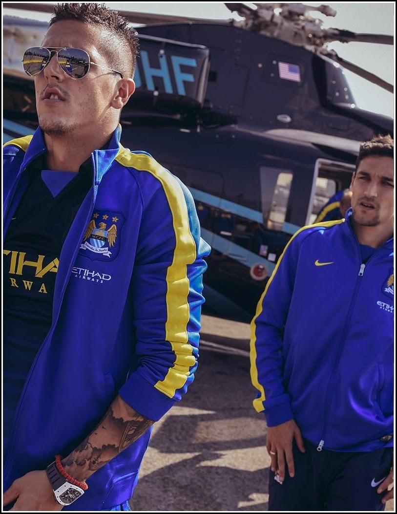 2014-15 Manchester City Kit