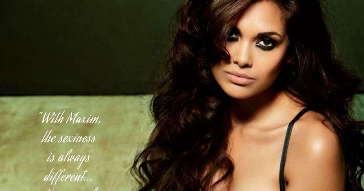 Esha Gupta Hot and Sizzling Bikini, Lingerie, Bra FHM ...